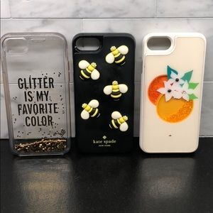 3 Kate Spade IPhone 7 phone cases